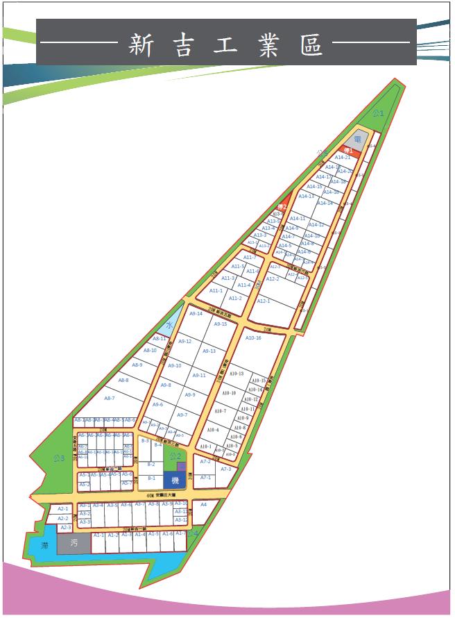新吉工業區位置圖